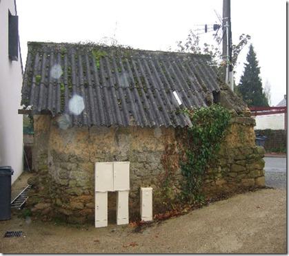 le toit du local de la forge