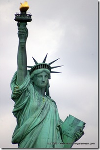 A date with Lady Liberty – touring Liberty Island