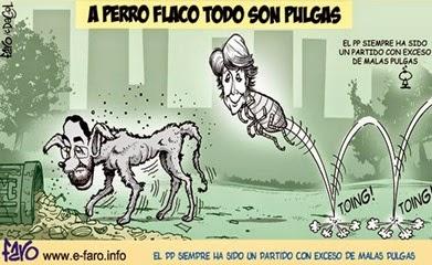 Rajoy Aguirre perro