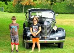 1308216 Aug 27 Nate And Kimberly By 1938 Pontiac