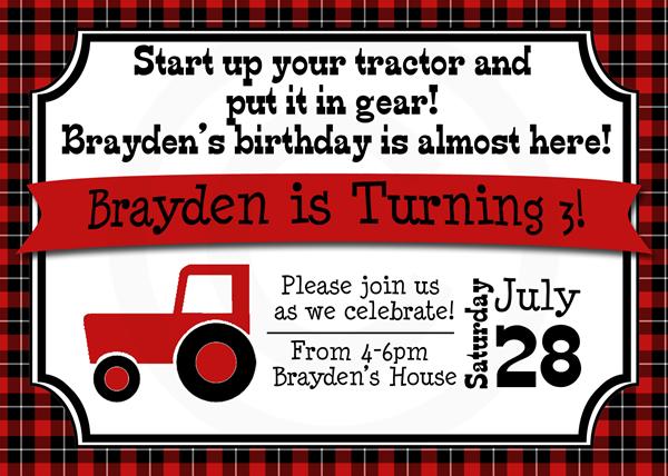 Tractor Invite