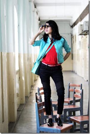 Liyana Jasmay Gayakan Fesyen Musim Bunga & Panas 2013 (1)
