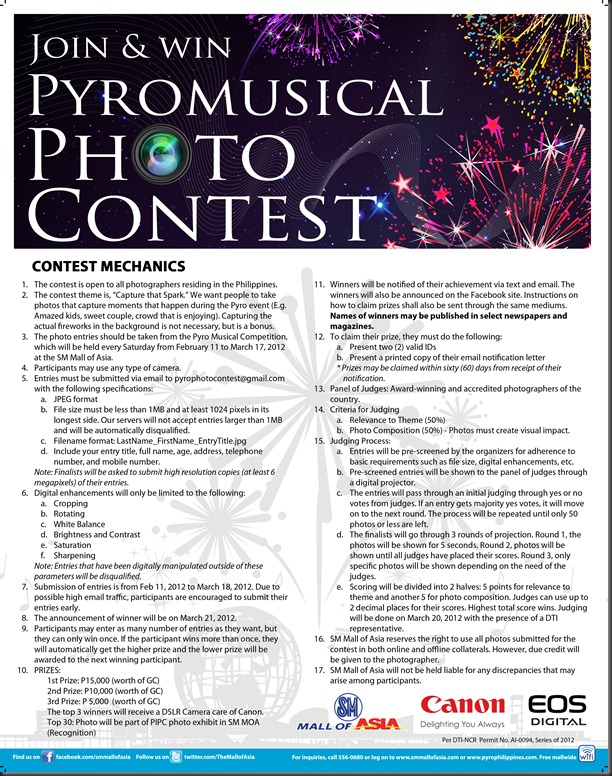Pyro Photo Contest