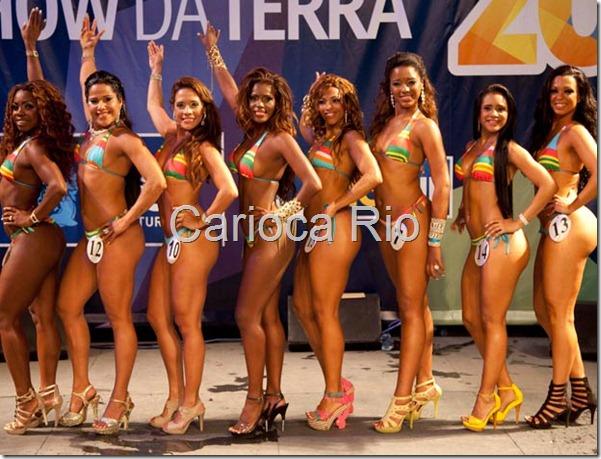 rainha do carnaval 2012 no Rio tem oito finalistas