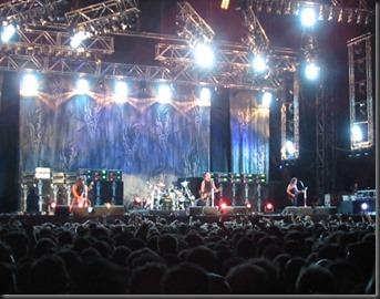 concierto metallica 2003