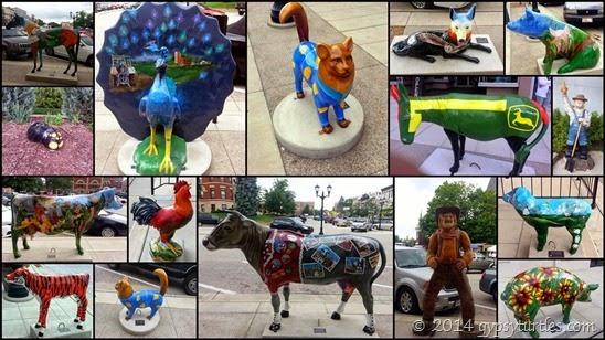 Monroe Animal Street Art