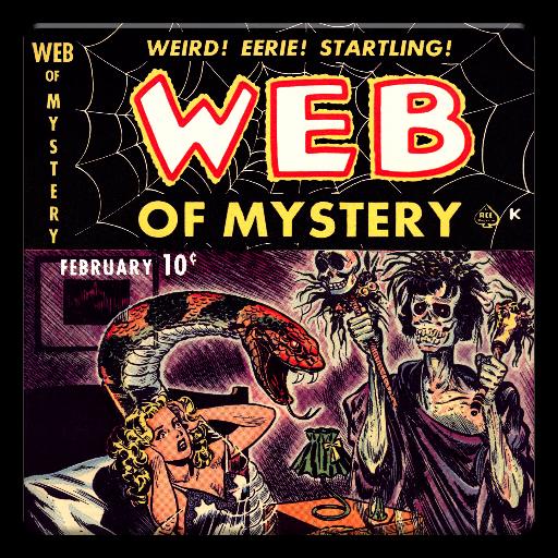 漫畫必備App|Web of Mystery Comic Book #1 LOGO-綠色工廠好玩App