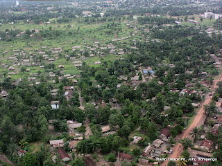 Une vue de la ville de Mbandaka dans la province de lquateur en RDC. Radio Okapi/ Ph. John Bompengo