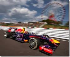 Webber conquista la pole del gran premio del Giappone 2013