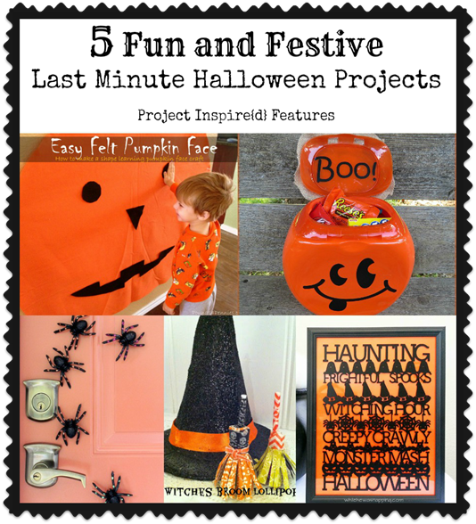 Five Fun and Festive Last Minute Halloween Projects