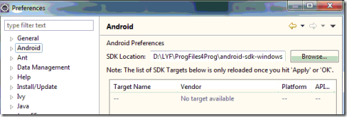 addPath2AndroidSdk