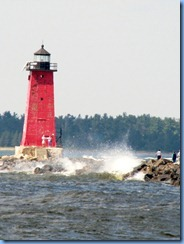 4844 Michigan - Manistique, MI - US-2 - Manistique East Breakwater Lighthouse