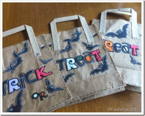 Trick or Treat Bags Sizzix bat die