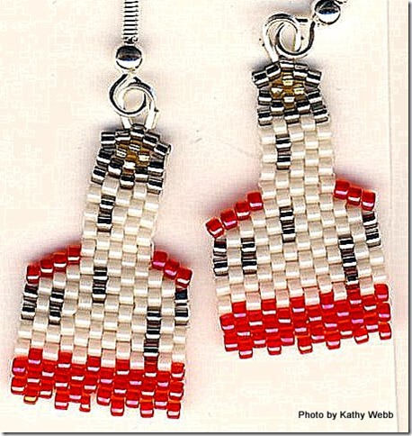 Coquille River Lighthouse Earrings