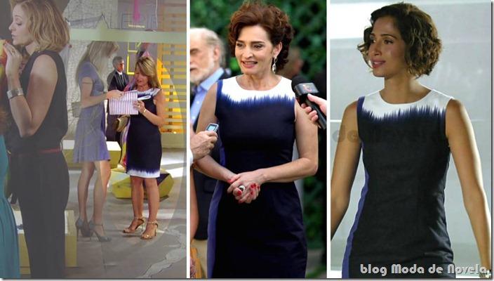 moda de novela - vestido carol na novela cheias de charme