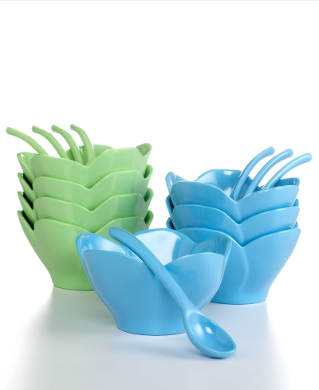 A set of fun ice-cream bowls is a must-have for any household. Martha Stewart Collection (macys.com)