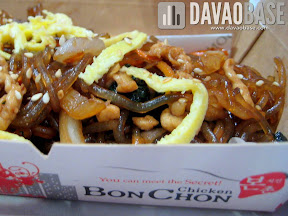 BonChon Chicken Chapchae (Korean-style noodles)