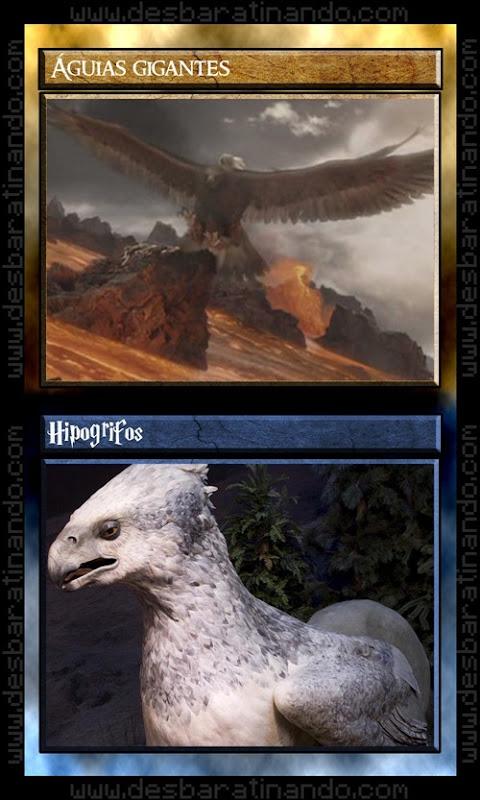 16 aguias gigantes hipogrifo senhor dos anéis Vs harry potter