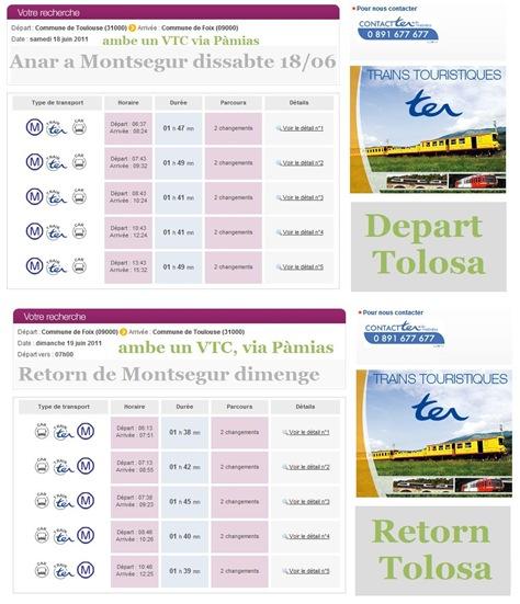 trens per Montsegur 2011