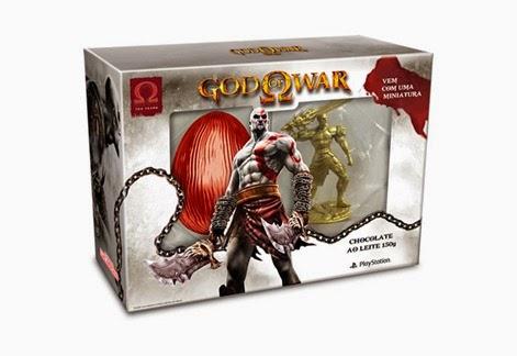 Ovo de Páscoa God of War - 2015