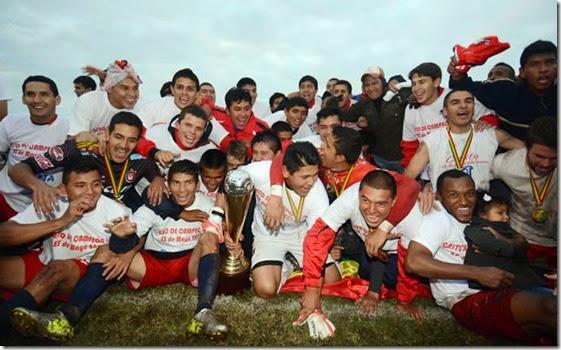Fútbol boliviano 2014
