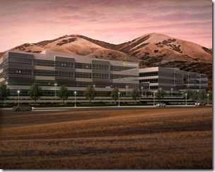 Architect's rendition of new Ancestry.com headquarters