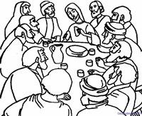 ultima cena dibujos (2)