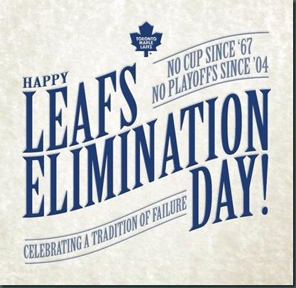 leafs eliminaio