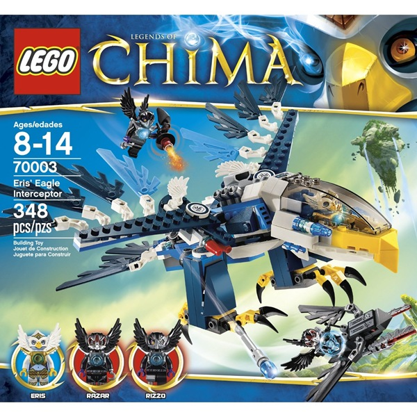 Legends of Chima Eris Eagle Interceptor