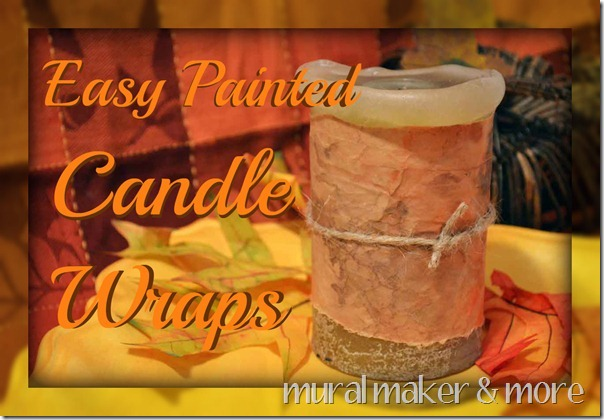 Fall Candle Craft in 15 Minutes