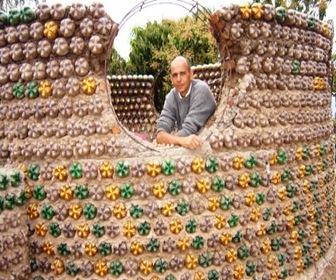 Construcción-Casa-botellas-plásticas-recicladas-3