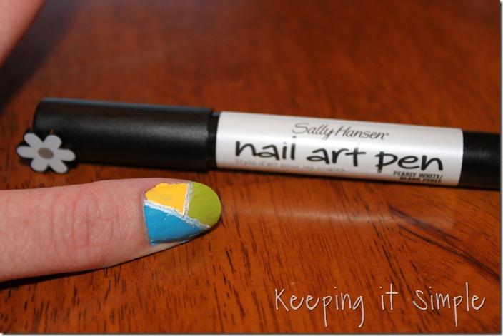 color blocking nails (13)
