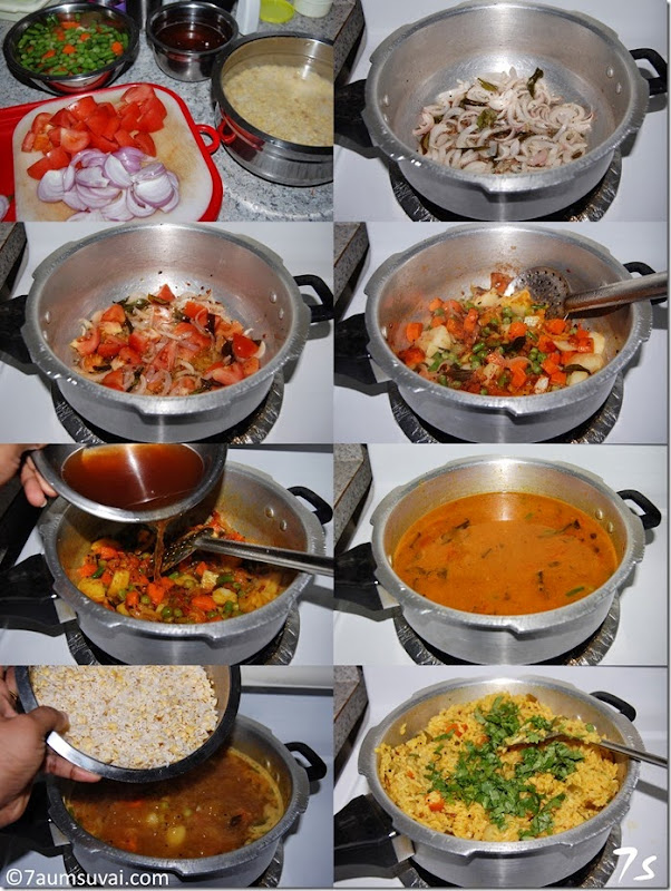 Sambar sadham process