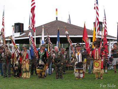 Eagle Staffs and Flag Bearers