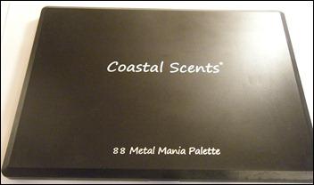 Coastal Scents 88 Metal Mania Palette
