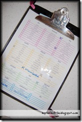 coupon clipboard organizer 1