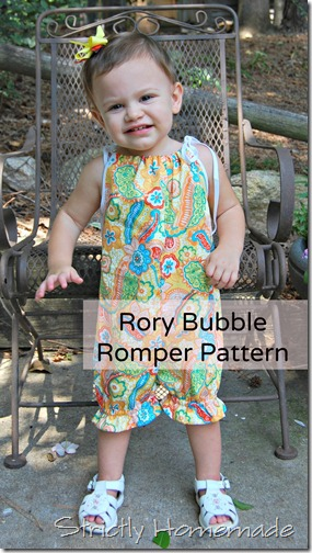 Rory Bubble Romper Pattern