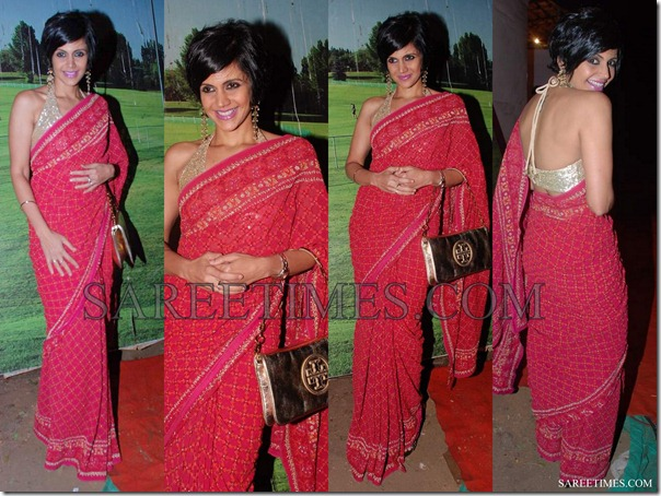 Mandira_Bedi_Red_Saree