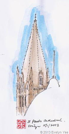 St Paul's Cathedral - Outdoor Sketch