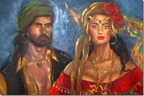 Cigano Wladimir e Cigana Rayanna
