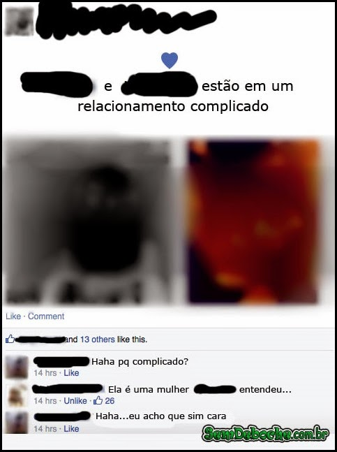 EM UM RELACIONAMENTO COMPLICADO!