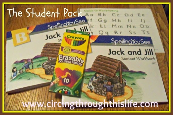 Jack and Jill Student Pack Homeschool Spelling Curriculum Review