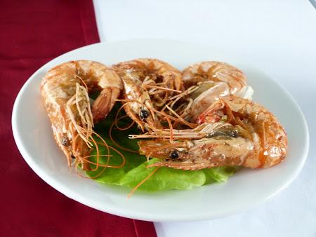 Croaziera Halong Bay: creveti vietnamezi