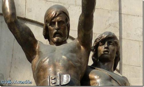 Indíbil y Mandonio - Lideres ilergetes - Lleida
