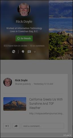 Rick Doyle   Google