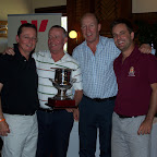 Richard Hockney, Andrew Rumbelow, John Easling & Michael Richardson - the winning team