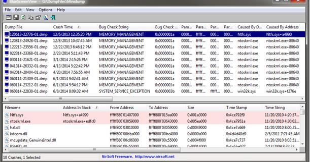 ntoskrnl.exe+80640 memory_management