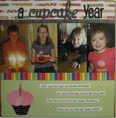 18 A cupcake Year