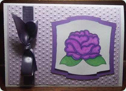 christel purple flower