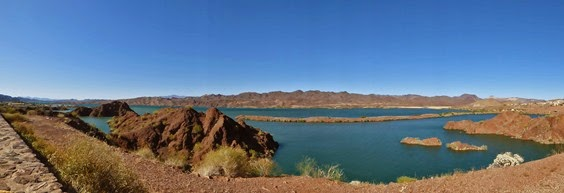 Southern portion Lake Havasu